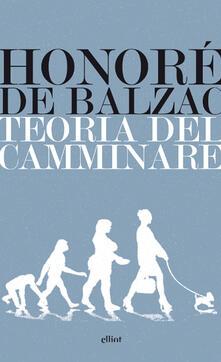 Teoria del camminare - Honoré de Balzac - copertina