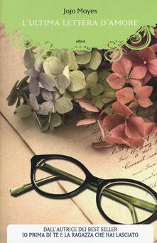 L' ultima lettera d'amore - Jojo Moyes - copertina