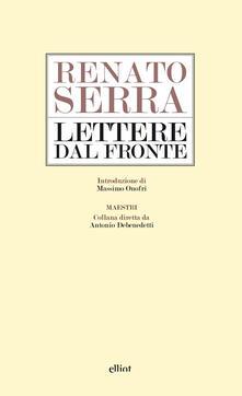 Lettere dal fronte - Renato Serra - copertina