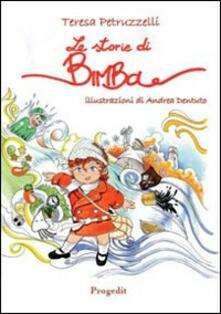 Le storie di Bimba - Teresa Petruzzelli - copertina