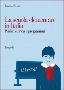 Voluntariadobaleares2014.es La scuola elementare in Italia. Profilo storico e programmi Image
