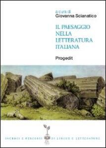 Il paesaggio nella letteratura italiana
