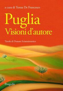 Puglia. Visioni d'autore - copertina