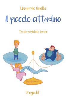 Il piccolo cittadino - Leonardo Rinella - copertina