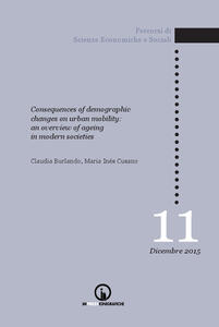 Consequences of demographic changes on urban mobility. An overview of ageing in modern societies