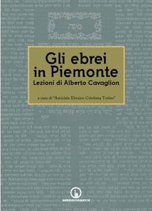 Winniearcher.com Gli ebrei in Piemonte. Lezioni di Alberto Cavaglion Image