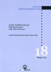 Analisi multidimensionale della deprivazione nella città di Genova
