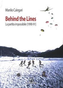 Antondemarirreguera.es Behind the lines. La partita impossibile (1990-91) Image