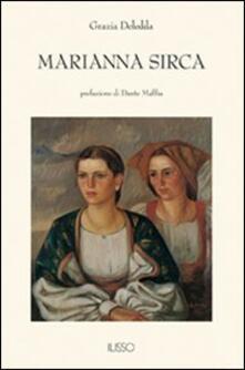 Marianna Sirca - Grazia Deledda - copertina
