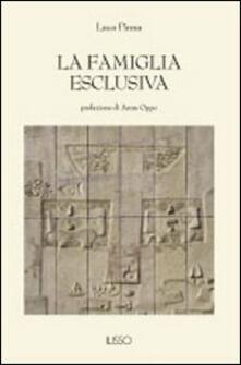 La famiglia esclusiva - Luca Pinna - copertina
