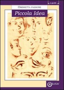Piccola idea - Ombretta Fassone - copertina