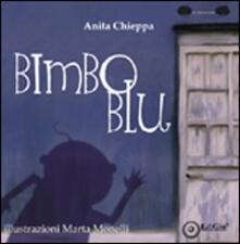Bimbo blu - Anita Chieppa - copertina