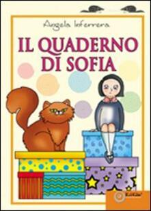 Il quaderno di Sofia - Angela Inferrera - copertina