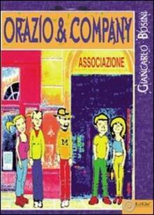 Orazio & company - Giancarlo Bosini - copertina