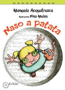 Naso a patata - Manuela Acquafresca - copertina