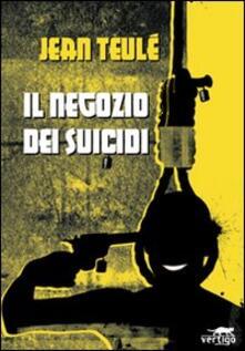 Il negozio dei suicidi - Jean Teulé - copertina