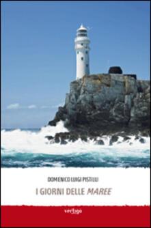 I giorni delle maree - Domenico L. Pistilli - copertina
