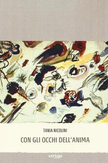 Con gli occhi dell'anima - Tania Nicolini - copertina
