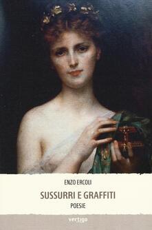 Sussurri e graffiti - Enzo Ercoli - copertina