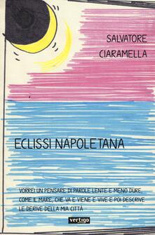 Eclissi napoletana - Salvatore Ciaramella - copertina