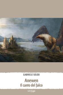 Anewen il canto del falco - Gabriele Soldo - copertina