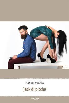 Jack di picche - Manuel Quarta - copertina