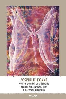 Sospiri di donne - Giuseppina Ricciolino - copertina