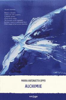 Alchimie - Maria Antonietta Oppo - copertina