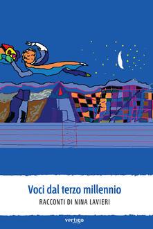 Voci dal terzo millennio - Nina Lavieri - copertina