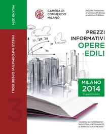 Ristorantezintonio.it Prezzi informativi delle opere edili in Milano. Terzo quadrimestre 2014 Image