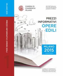 Camfeed.it Prezzi informativi delle opere edili in Milano. Primo quadrimestre 2015 Image