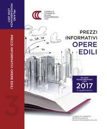 Prezzi informativi delle opere edili in Milano, Monza-Brianza e Lodi. Terzo quadrimestre 2017 - copertina