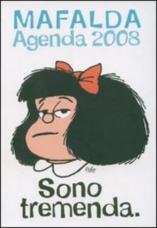 Sono tremenda. Mafalda. Agenda 2008 12 mesi - copertina