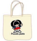 Cartoleria Mafalda. Piccola peste. Borsa Magazzini Salani
