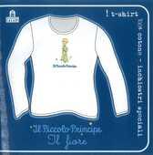 Idee regalo T-Shirt Piccolo Principe a maniche lunghe, donna, taglia M. Bianco. Il fiore Magazzini Salani