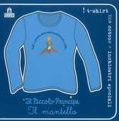 Idee regalo T-Shirt Piccolo Principe a maniche lunghe, donna, taglia S. Azzurro. Il mantello Magazzini Salani