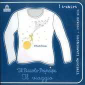 Idee regalo T-Shirt Piccolo Principe a maniche lunghe, donna, taglia M. Bianco. Il viaggio Magazzini Salani