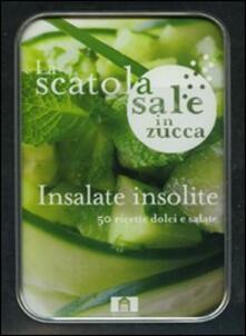 Squillogame.it Insalate insolite. 50 ricette dolci e salate. La scatola sale in zucca. Con gadget Image
