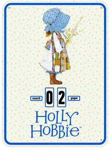 Cartoleria Calendario perpetuo 2017 Holly Hobbie Classic Magazzini Salani