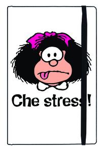 Cartoleria Taccuino Mafalda. Che stress! Magazzini Salani