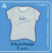 Idee regalo T-Shirt Piccolo Principe a maniche corte, taglia M. Grigio. Il prato Magazzini Salani