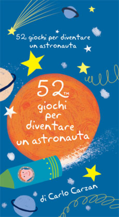 52 giochi per diventare un astronauta. Carte