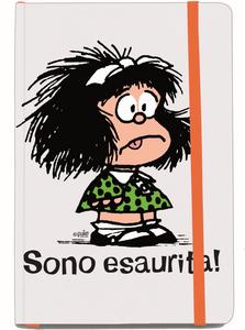 Cartoleria Quaderno Mafalda. Sono esaurita! Magazzini Salani