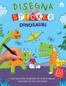 Ristorantezintonio.it Disegna i tuoi dinosauri. Con gadget Image