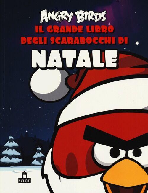 Angry birds. Il grande libro degli scarabocchi di Natale. Con adesivi