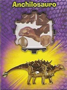 Puzzle 3D. Anchilosauro