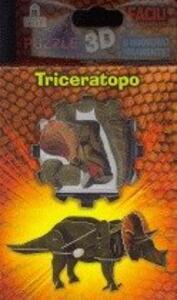 Puzzle 3D. Triceratopo