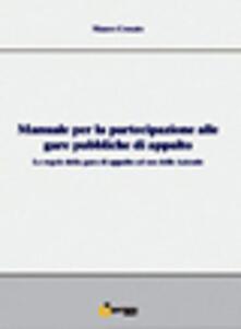 Ristorantezintonio.it Manuale per la partecipazione alle gare pubbliche di appalto. Le regole della gara di appalto ad uso delle aziende Image