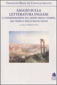 Saggio sulla letteratura inglese e considerazioni sul genio degli uomini, dei tempi e delle rivoluzioni