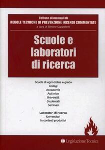 Scuole e laboratori di ricerca